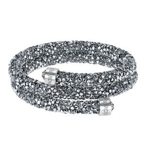 Swarovski Crystal Double Bangle
